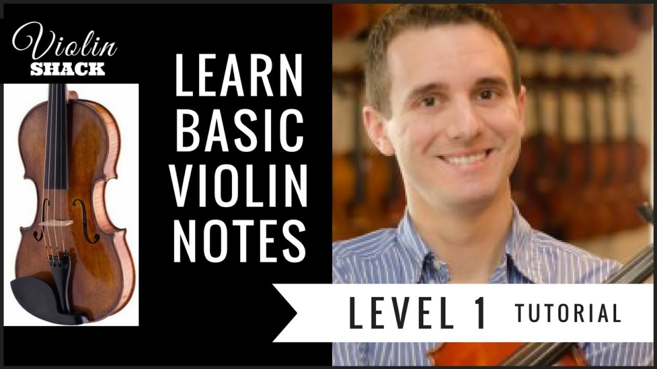 Learn Violin Notes (BASIC Notes) | VIOLIN LESSONS FOR BEGINNERS ...