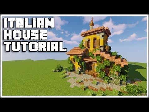 Minecraft 1.14 Italian House Tutorial