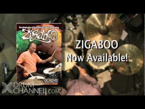 Zigaboo - The Originator of New Orleans Funky Drumming