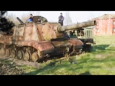Starting tank after 70 years !