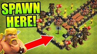 Clash Of Clans - INSANE TROLL BASE COMPILATION! - CoC 2016!