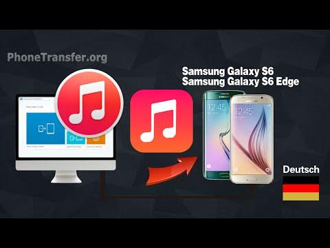 Wie das Synchronisieren von Musik, Playlist von iTunes auf Samsung Galaxy S6 (Edge)