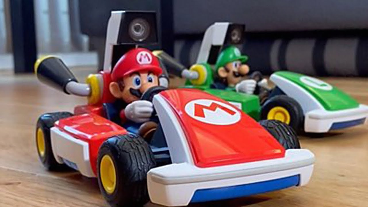 Nintendo's Mario Kart Meets Mixed Reality