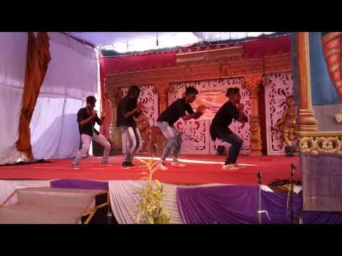 SDPT First Grade College kateel,Anual day celebration performance  by BlaCk bOunCers kAteel(bB5)....
