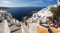 """A Day In Santorini"" Greek Islands Santorini Extended Length 1080p"