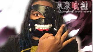 REAL KANEKI KEN TOKYO GHOUL MASK!! 東京グール