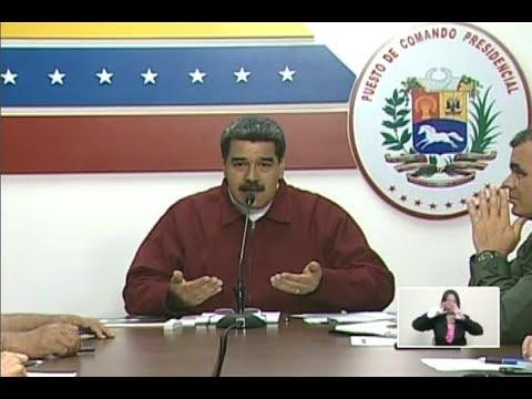 Maduro anuncia comisión para investigar apagón nacional y ataque a sistema eléctrico