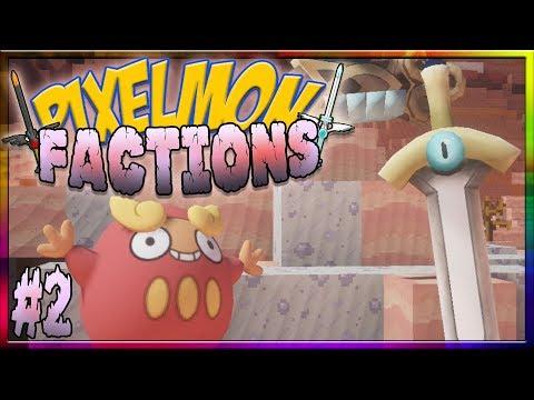 Pixelmon Factions Episode 2 - TEAM BRAWN...
