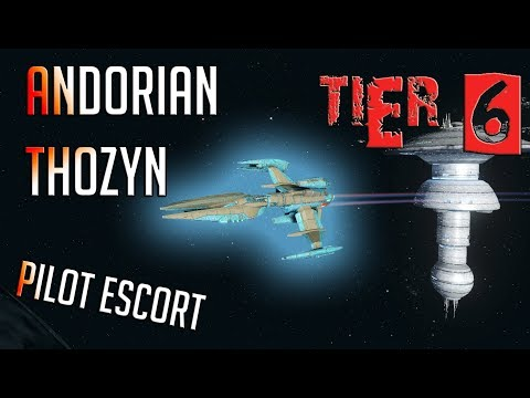 Andorian Thozyn Pilot Escort [T6] – with all ship visuals – Star Trek Online