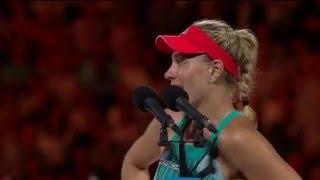 Serena Williams upset by Angelique Kerber in Australian Open