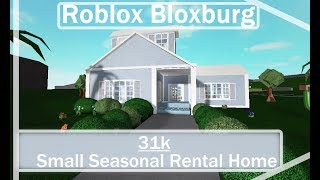 Roblox Bloxburg | Small Rental Home Speedbuild