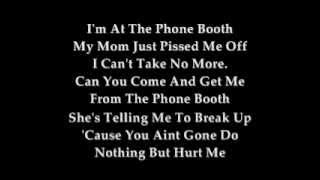 Phone Booth Lyrics By Teairra Mari