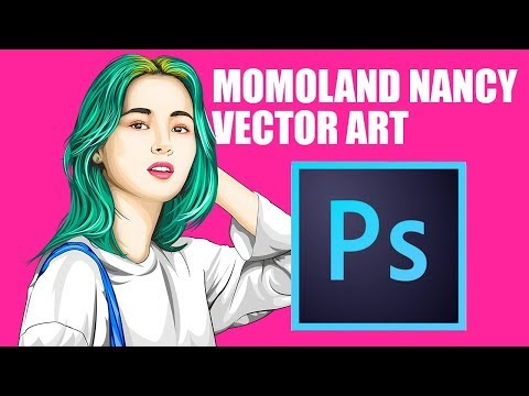 MOMOLAND   Nancy Jewel McDonie Speed Vector Art   Adobe Photoshop