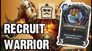 [Disguised Toast] Recruit Warrior - Standard (The Witchwood)