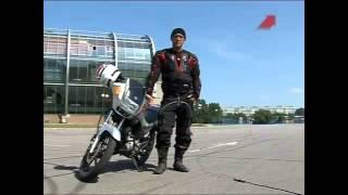 Учимся ездить на мотоцикле Урок 2