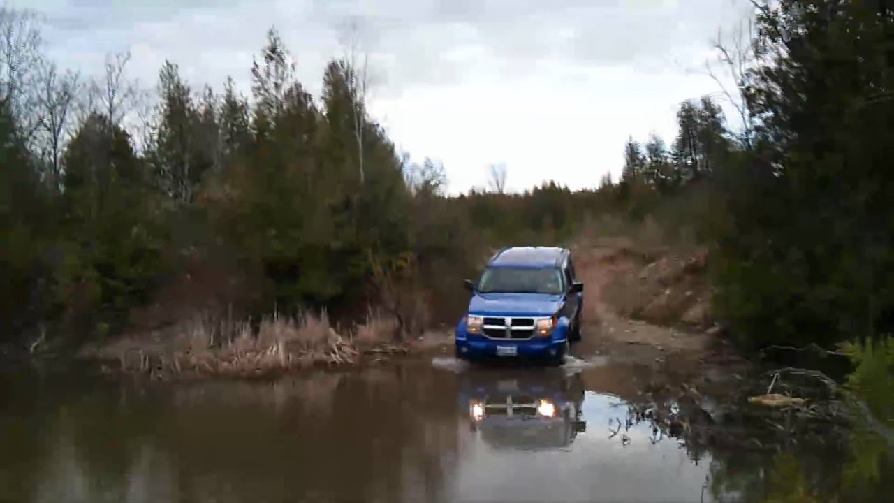 Dodge Nitro Off Road Youtube