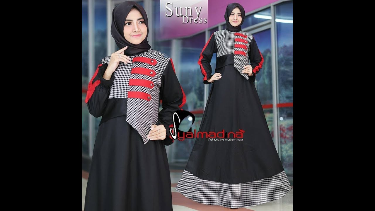 4 Model Baju Wanita Muslim Simple Cantik Modern Terbaru  bc22162dd2