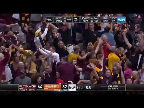 Loyola Chicago Hits Late Three-Pointer to Upset Miami in NCAA Tournament