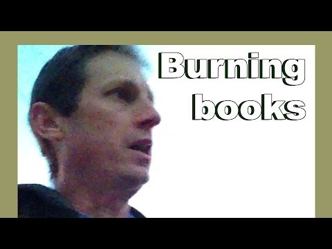 Burning books - Return to the USA - LylesBrother
