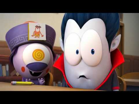 Funny Animated Cartoon | Spookiz Season 1 - Culas Straw Gun | 스푸키즈 | Cartoon for Kids