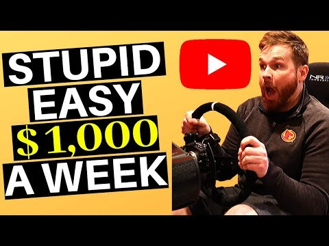 [Stupid Easy Trick] To Make $100 Per Day On Youtube Without Making Any Videos | Without Showing Face