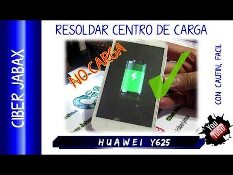 Huawei no enciende y no carga, solución huawei Y625