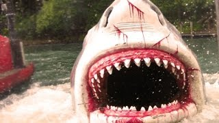 The JAWS Ride! (Universal Studios) Florida HD POV Orlando Amity Island Shark Great White FULL Ride!