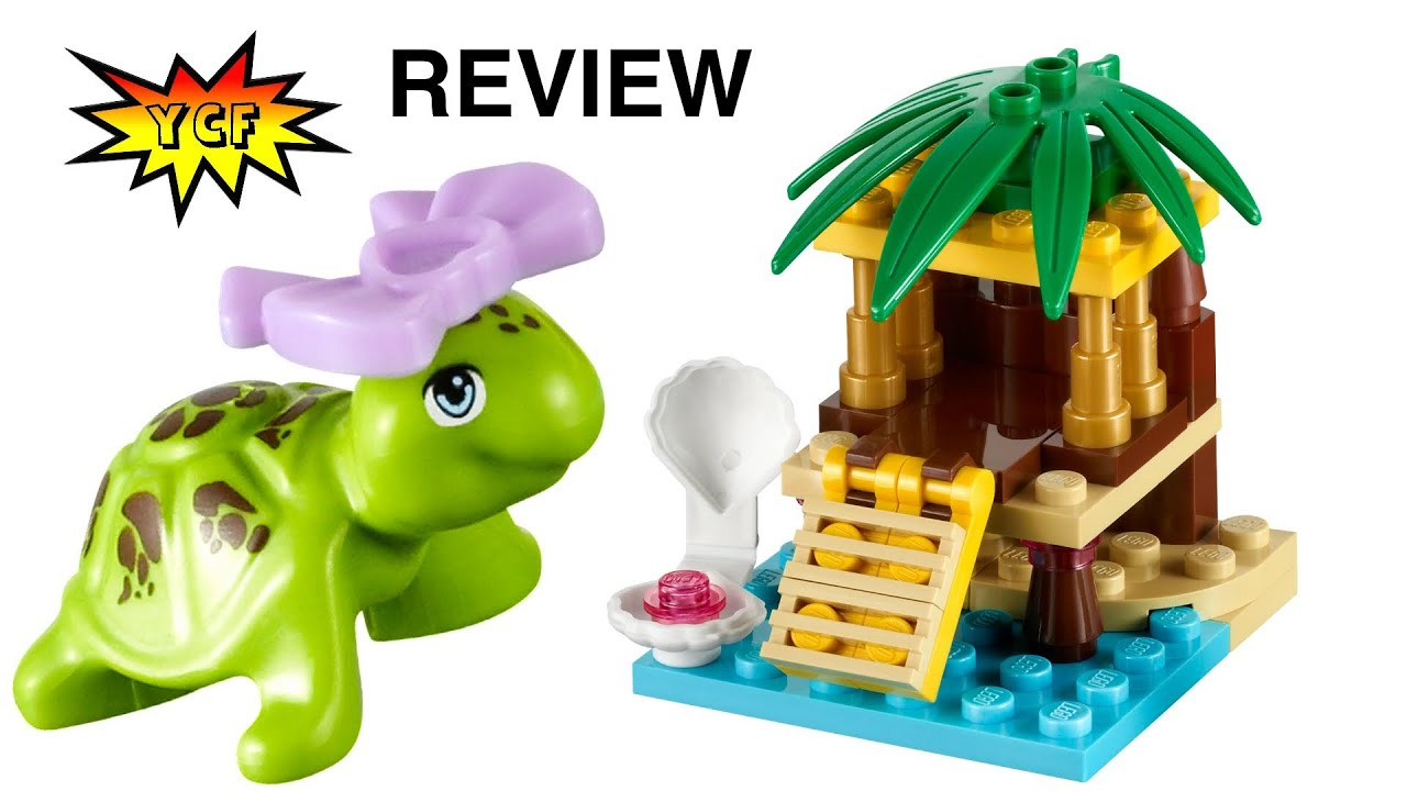 Lego Friends Turtles Little Oasis Review 41019 Friends Collectables
