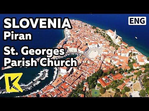【K】Slovenia Travel-Piran[슬로베니아 여행-피란]성 조지 대성당/St. Georges Parish Church/Resort city