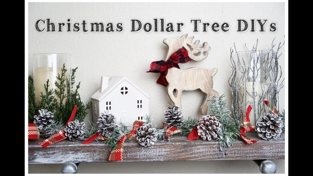 DOLLAR TREE DIY CHRISTMAS DECOR | EASY HOLIDAY DECOR | Momma from ...