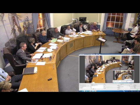 City of Plattsburgh, NY Meeting  11-1-18