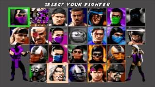 Ultimate Mortal Kombat 3 (Sega Genesis) - Corruptions