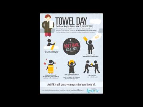 Hitchhiker's Guide to the Galaxy Towels