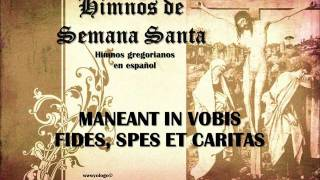 Maneant In Vobis Fides Spes Et Caritas