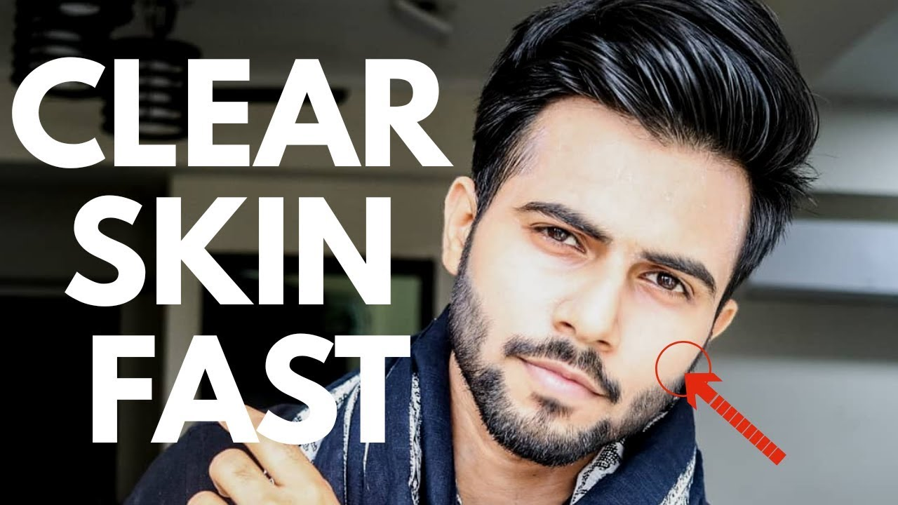 How To Get Clear Glowing Skin Naturally For Men  Skin Care Tips
