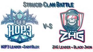 Team H0P3 vs Team ZHG | Strucid Clan Battle (ROBLOX)