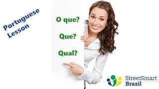 Baixar Master Question Words in Portuguese: O que, Que, Qual - Portuguese Lesson