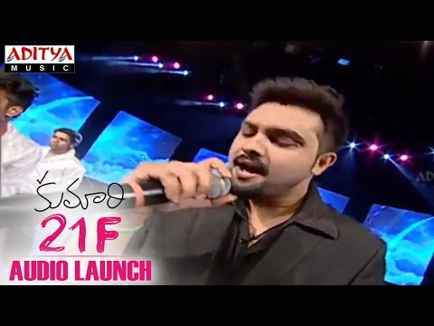 Yazin Nizar Live Performance At Kumari 21F Audio Launch - Raj Tarun, Sukumar, Devi Sri Prasad
