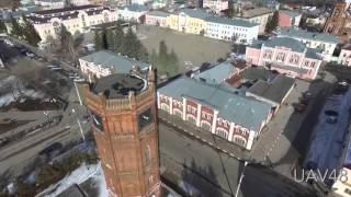 Елец - аэросъёмка(Первое упоминание о Ельце относится к 1146 году – старинный русский город с населением 110 000 человек. В городе..., 2016-03-21T14:13:35.000Z)