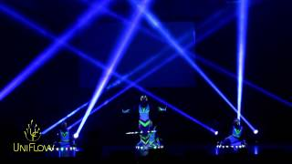 UniFlow graphic glow show