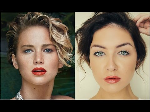 Jennifer Lawrence Vanity Fair 2014 Makeup Tutorial