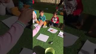 shadow activity - Barney Home Nursery