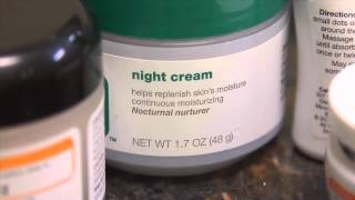 Get the most from your skin care products video