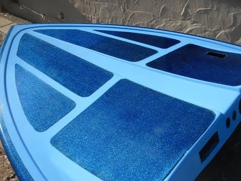 Easy Metal Flake Restoration For Your Boat Youtube