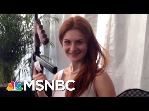 NRA Quiet On Alleged Role As Russian Conduit In Maria Butina Charges | Rachel Maddow | MSNBC