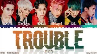 EXO TROUBLE Lyrics