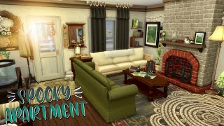 Crypidcore Apartment 🌙🌲// The Sims 4 Aesthetic Apartment Renovation | Stonestreet Apartments #4