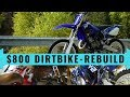 $800 dirt bike Yamaha YZ125 complete rebuild - time lapse