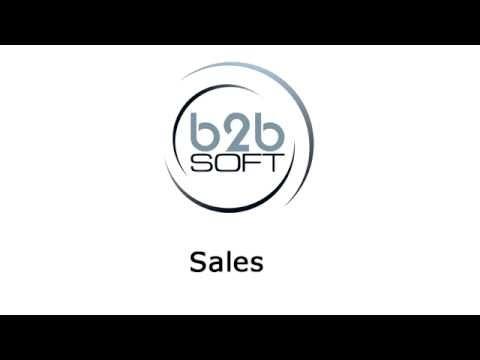 B2B Soft Sales - Recorded webinar on B2B Soft Sales Module