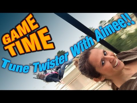 Game Time!! Tune Twister With Aimee!!